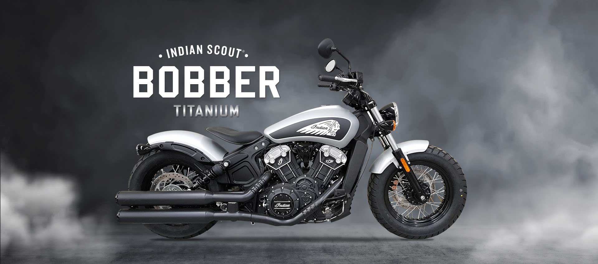 Indian Bobber Ttitanium