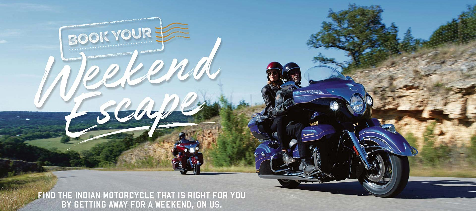 Indian Motorcycle weekend escape