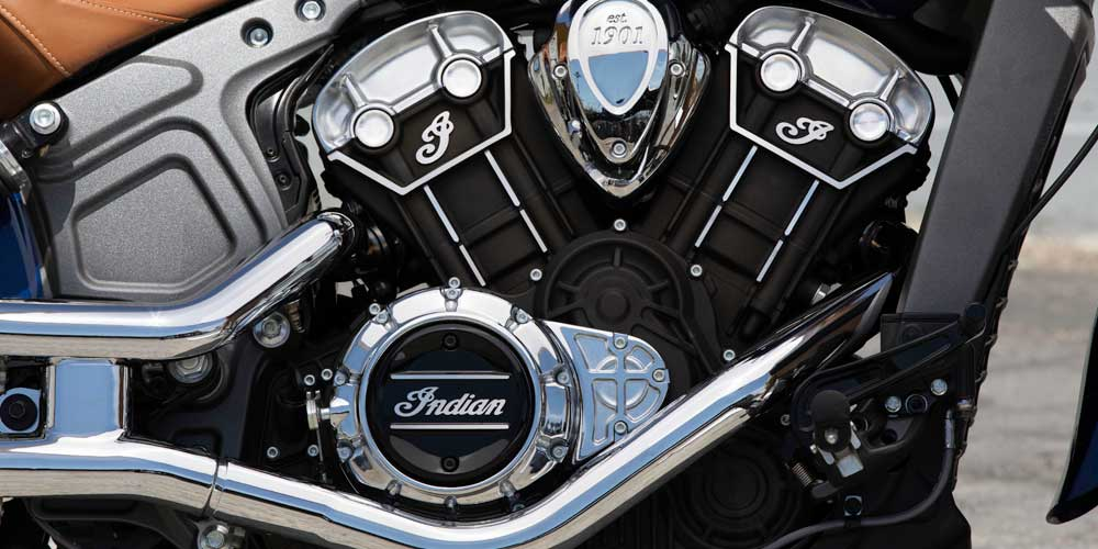 100-HP V-TWIN ENGINE